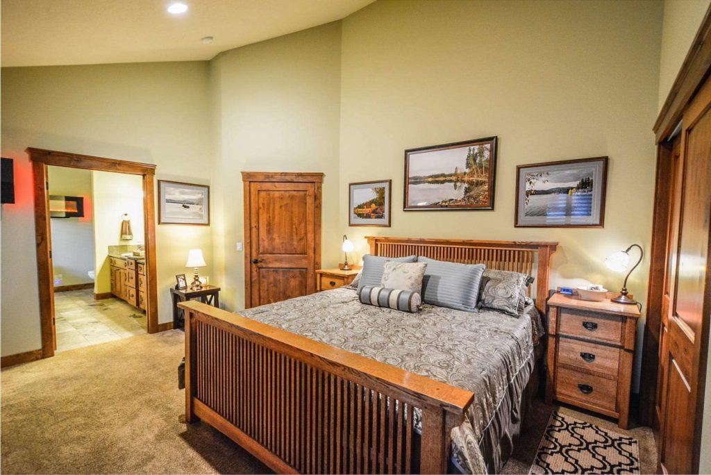 A bedroom utilizing BedBugsBite's services